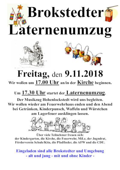 2018 laternenumzug